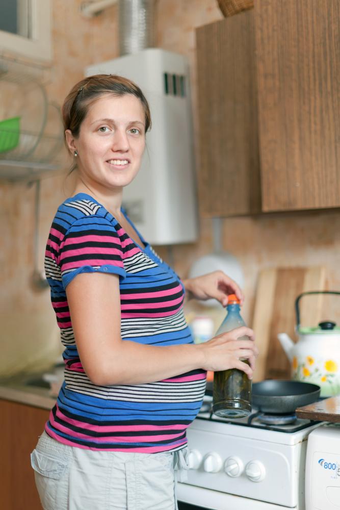 vivre sa grossesse dans un appartement partagé